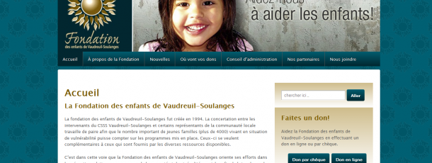 Fondation des enfants Vaudreuil-Soulanges