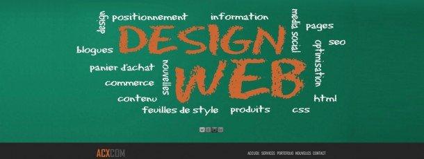 Acxcom vous présente son Nouveau design web