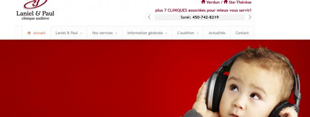 Laniel & Paul clinique auditive